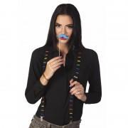 Merkloos Moustache feestbretels