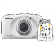 Nikon Aparat Coolpix W100 Biały + Plecak