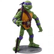 Playmates Teenage Mutant Ninja Turtles Retro Classic Collector Action Figures Set of 4 Michelangelo Leonardo Donatello and Raphael