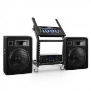 Electronic-Star Serie 'Venus Bounce' Set Rack Star DJ PA - 300 personas (PL-Venus-BT)