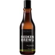 Redken Brews Daily Shampoo - 300 ml