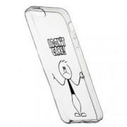Husa pentru Apple iPhone 5 5S SE Silicon Slim I Dont Care 162