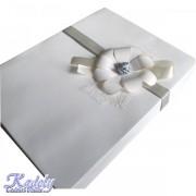 Cutie de cadou cu floare handmade