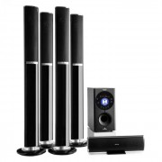 Auna Areal 652 5.1-Kanals-Surround-System 145W RMS Bluetooth USB SD AUX