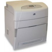 Imprimanta Laser Color HP Laserjet 5550 DN Refurbished 30ppm Retea Duplex + Cartuse Incarcate Complet