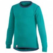 Woolpower - Kids Crewneck 200 - Sous-vêtement mérinos taille 98/104 - Years 3/4, turquoise