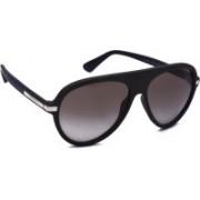Versace Aviator Sunglasses(Brown)