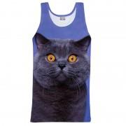 Mr. Gugu & Miss Go British Cat Tank Top T Shirt TT631