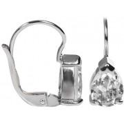 Brilio Silver Stříbrné náušnice s krystaly Swarovski 436 001 00302 04