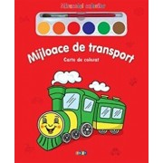 Mijloace de transport - Carte de colorat/***