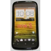 Силиконов гръб ТПУ за HTC One S Z520e Черен
