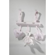 Absorba Boulier ours rose Bisou