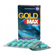 Gold Max™ Kosttilskott för manlig potens - 20 kaps spara 36%