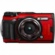 Olympus Tough TG-6 Red crveni WiFi GPS 4K video 120p 12MP TG6 podvodni vodonepropusni digitalni fotoaparat V104210RE000 V104210RE000