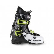Scarpa Maestrale RS 2 - White/Black/Lime - Chaussures de ski 30,5