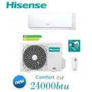 Condizionatore/Climatizzatore INVERTER 24000BTU Hisense New Comfort - DJ70BB00G