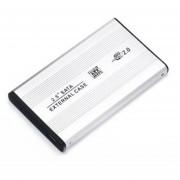 Louiwill SB 2.0 SATA De 2,5 Pulgadas Caso Caja Externa De Disco Duro De Alta Definición HDD Para El Ordenador Portátil, Plata
