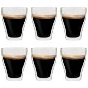 vidaXL Double Wall Latte Macchiato Glasses 6 pcs 370 ml