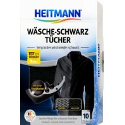 Servetele,Heitmann, cu colorant pentru revigorarea culorii negre, 10buc