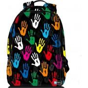 Sleevy laptop rugzak 15,6 Deluxe gekleurde handjes