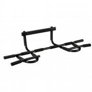 [pro.tec]® Barra de dominadas/ flexiones para montar en la puerta - pull-up - Ejercicio y fitness (105 x 48,5 x 18cm)