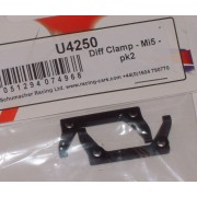 Schumacher U4250 Mi5 Diff Clamp. Pair