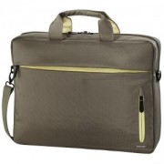 Чанта за Notebook Marseille Style, до 40 cм, 15.6 инча, кафяв/ жълт, HAMA-101283