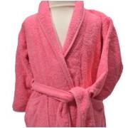 Clarysse Kimono kinderbadjas zonder capuchon Roze 122/128