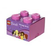 40031744 Cutie depozitare LEGO Friends 2x2 roz
