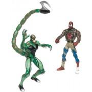 Spider Man Classics Scorpion Vs Battle Ravaged Spider Man