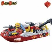 Set constructie Salupa pompieri, Banbao