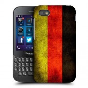 Husa BlackBerry Q5 Silicon Gel Tpu Model Germany Flag