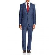 Hart Schaffner Marx Navy Birdseye 2 Button Flat Front New Men's 2-Piece Suit Set