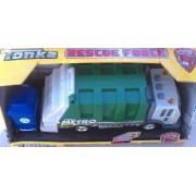 Tonka Lights & Sound - Mighty Fleet Hyper Lighting - Metro Sanitation Department Truck - Garbage Truck