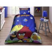 """Детско спално бельо """"Crazy Birds 3"""" - 100% памук"""