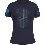 Grunt Style Women's Blueline Crusader Crewneck T-Shirt - Navy 2XL