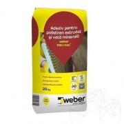 Adeziv flexibil pentru sisteme de izolatie termica-Weber P50