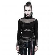 tricou stil gotic și punk femei - Brute - PUNK RAVE - T-480bk