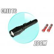 Lanterna reincarcabila cu ZOOM LED 5W CREE XMLT6 Power Light
