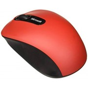 Microsoft PN7-00018 Mouse Inalámbrico Bluetooth, Color Rojo