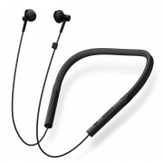 XIAOMI LYXQEJ02JY Bluetooth Necklace In-ear Earbuds Young Version for Xiaomi iPhone Samsung Etc. - Black