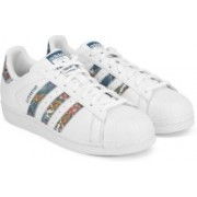 ADIDAS ORIGINALS SUPERSTAR W Sneakers For Women(White)