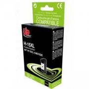 Мастилница UPRINT C6615D HP, Черен, LF-INK-HP-C6615-UP