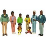 Figurine familie africana Miniland