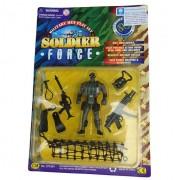 Żołnierzyk Soldier Force nurek z ekwipunkiem