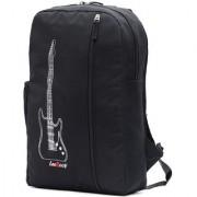 LeeRooy Canvas 20 Liter Black 17-Inch Laptop Backpack-r-13