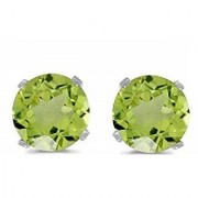 Peridot Earring Natural Stud Original & lab certified stone Jaipur Gemstone