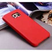 Кожен гръб за Samsung Galaxy S7 Edge Червен