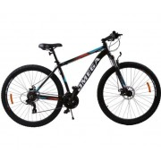 "Bicicleta Omega Thomas, Roti 29"", 21 viteze, Cadru 49cm, Model 2019 (Negru/Portocaliu)"