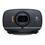 Logitech C525 HD Webcam, Black
